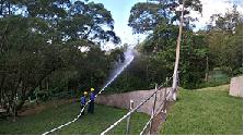 106公用氣體管線災害防救應變聯合演習1