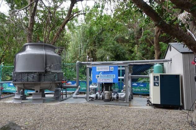 泉源47號公園地熱發電機組