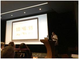 9月加開場次:創意論壇,講師安索帕中國首席創新及技術官林昇源分享「CREATIVE FIRST TECHNOLOGY」他與團隊「nowlab」所打造的網路平台、AI、VR等等,從執行的流程、研究方向、以及創意發想,深入探討如何打造精彩案例。
