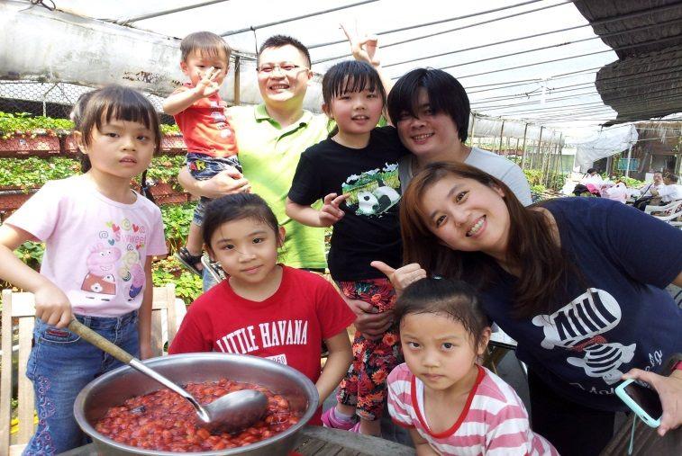 內湖草莓季體驗活動