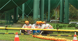 Joint natural gas disaster response drill (1)