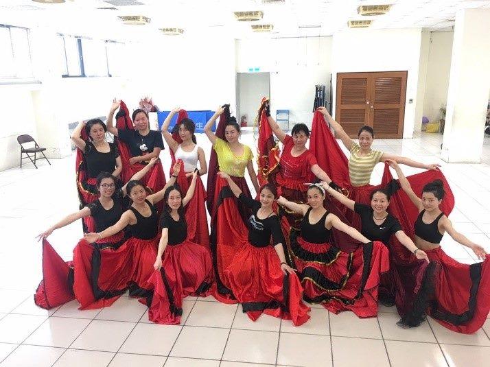 108年新移民西班牙舞蹈班01