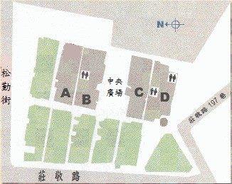 中央廣場位置圖