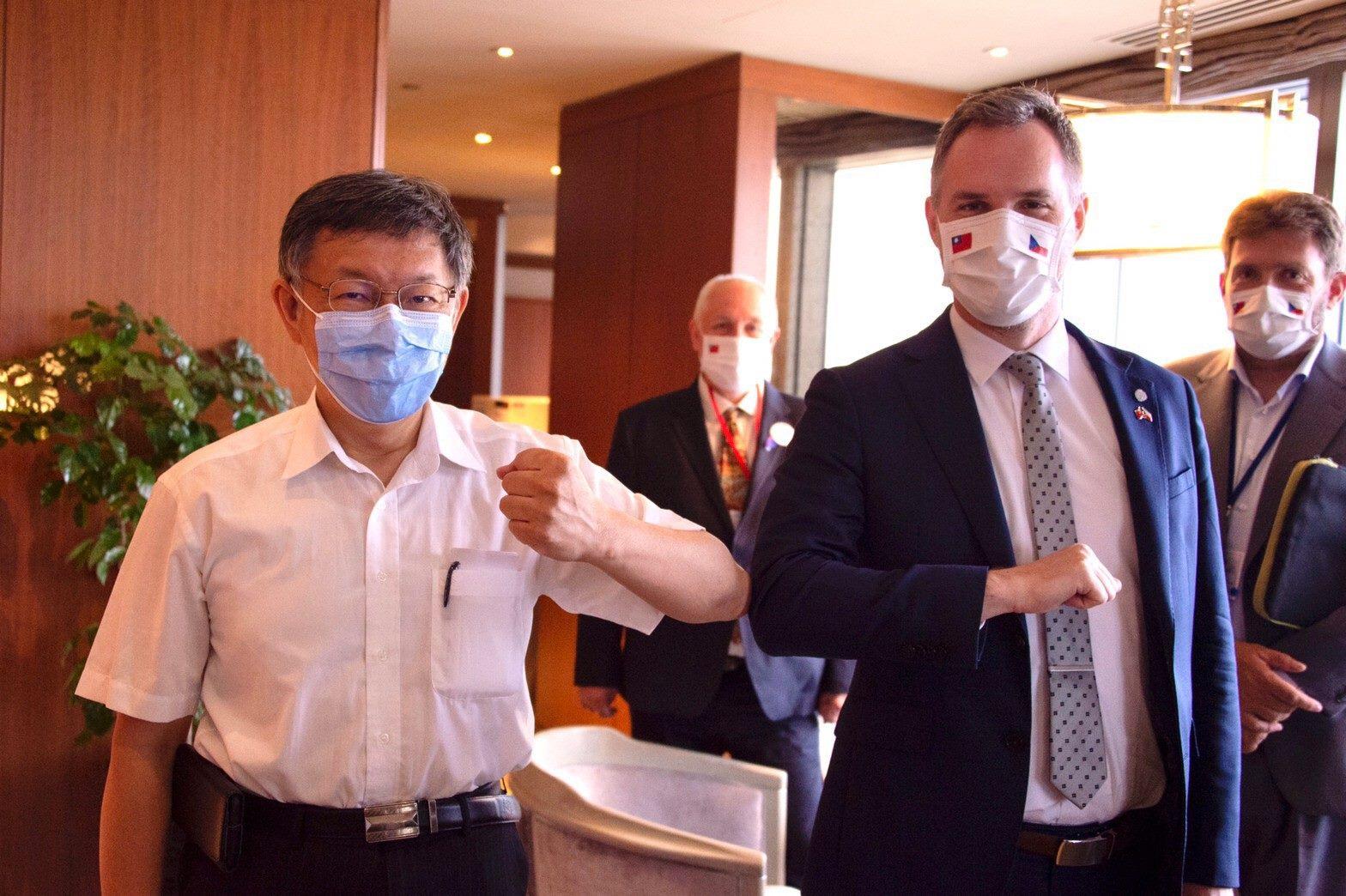 Mayor Ko met with Zdeněk Hřib, the mayor of Prague, Czech Republic