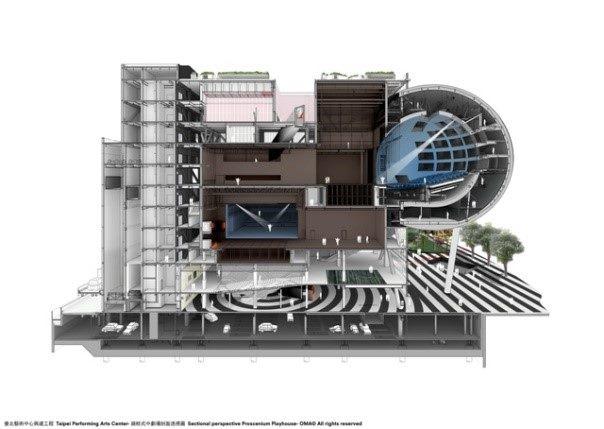 建築模擬剖透圖2