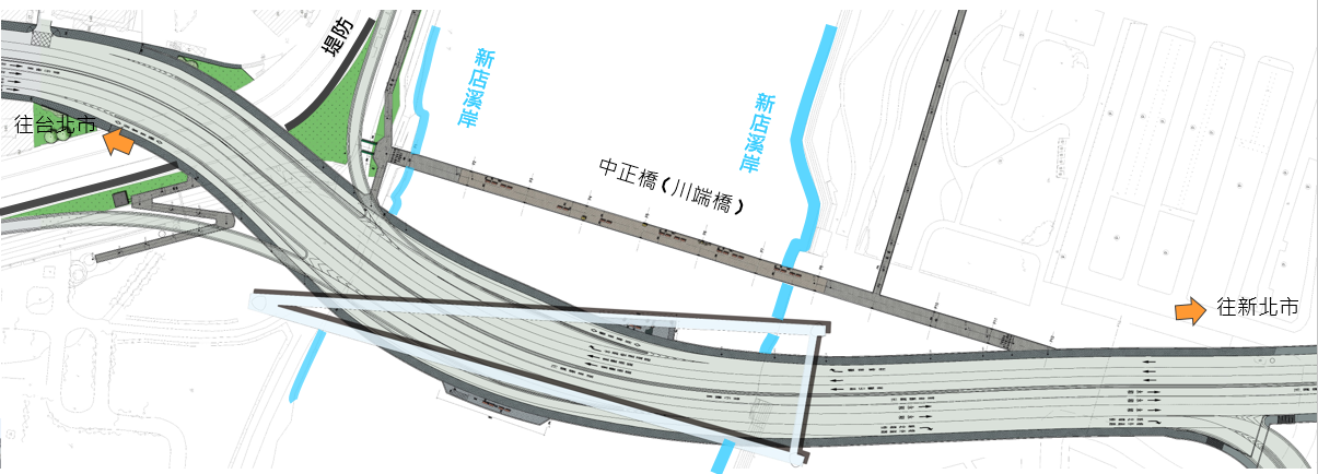 車道需求與配置圖