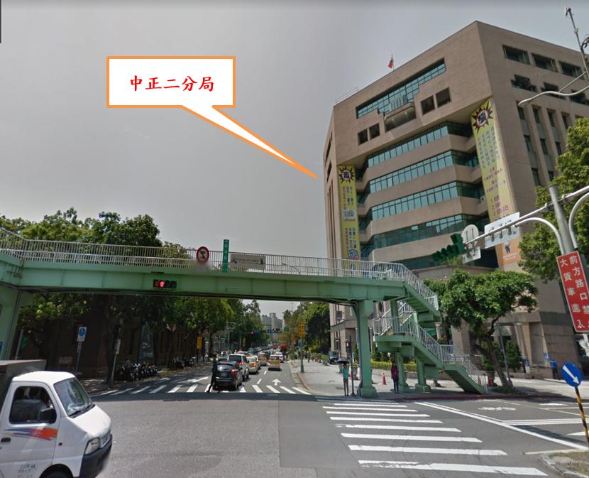 重慶南海人行陸橋跨南海路主樑(含樓梯)現況照片