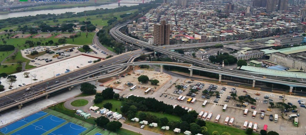 華中橋增設匝道街接水源快速道路工程 The project of Hua Zong Bridge additional ramp connecting to Shuiyuan Expressway