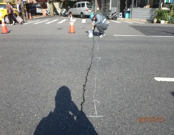 推動新材料新工法一 ~ 延長道路壽命