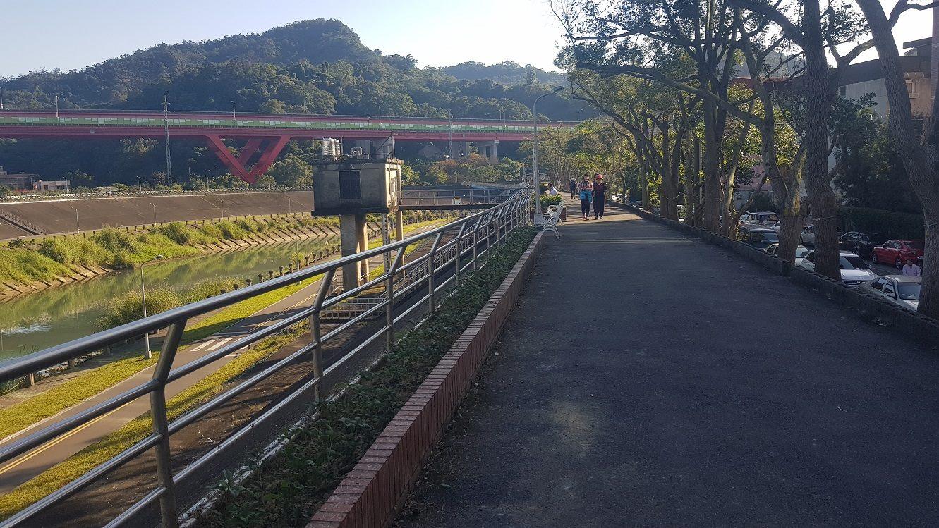 景美溪一壽橋段河堤照片