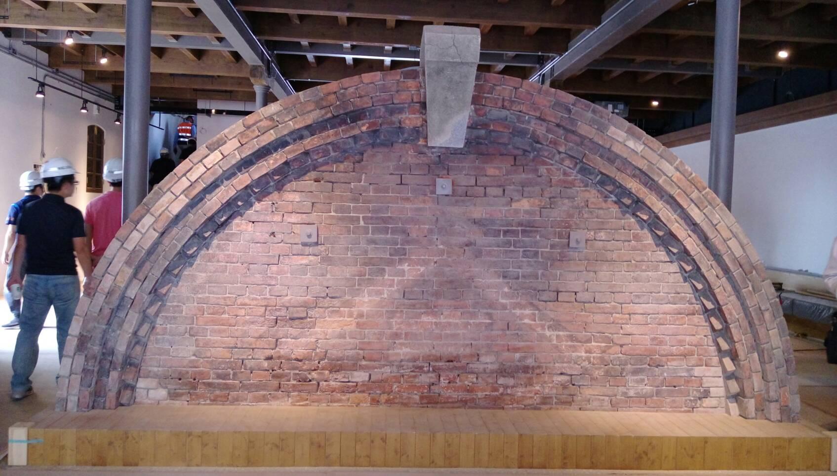 三井倉庫原有山牆完整保留