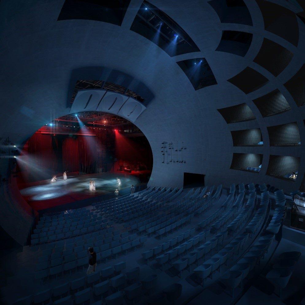 劇場模擬透視圖2