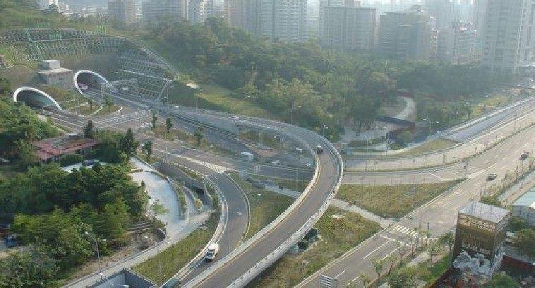 信義支線快速道路及象山隧道