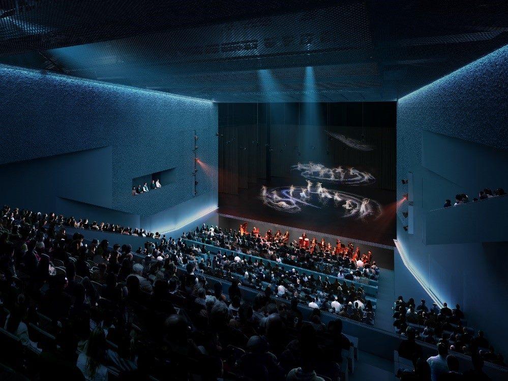 劇場模擬透視圖1