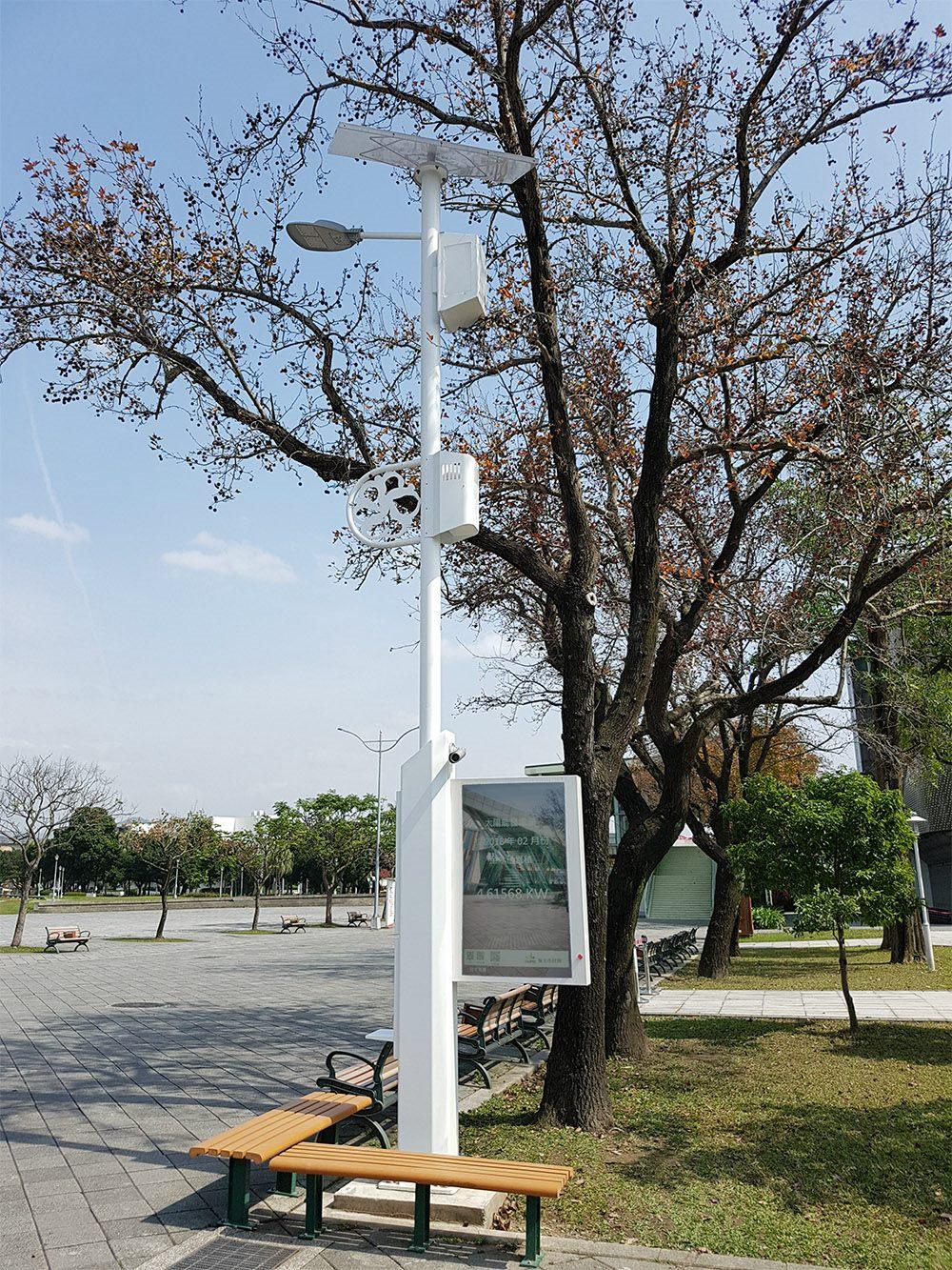 編號2.花博圓山園區路燈