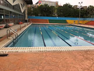 室外游泳池(25*15*1.5~1.8)1座