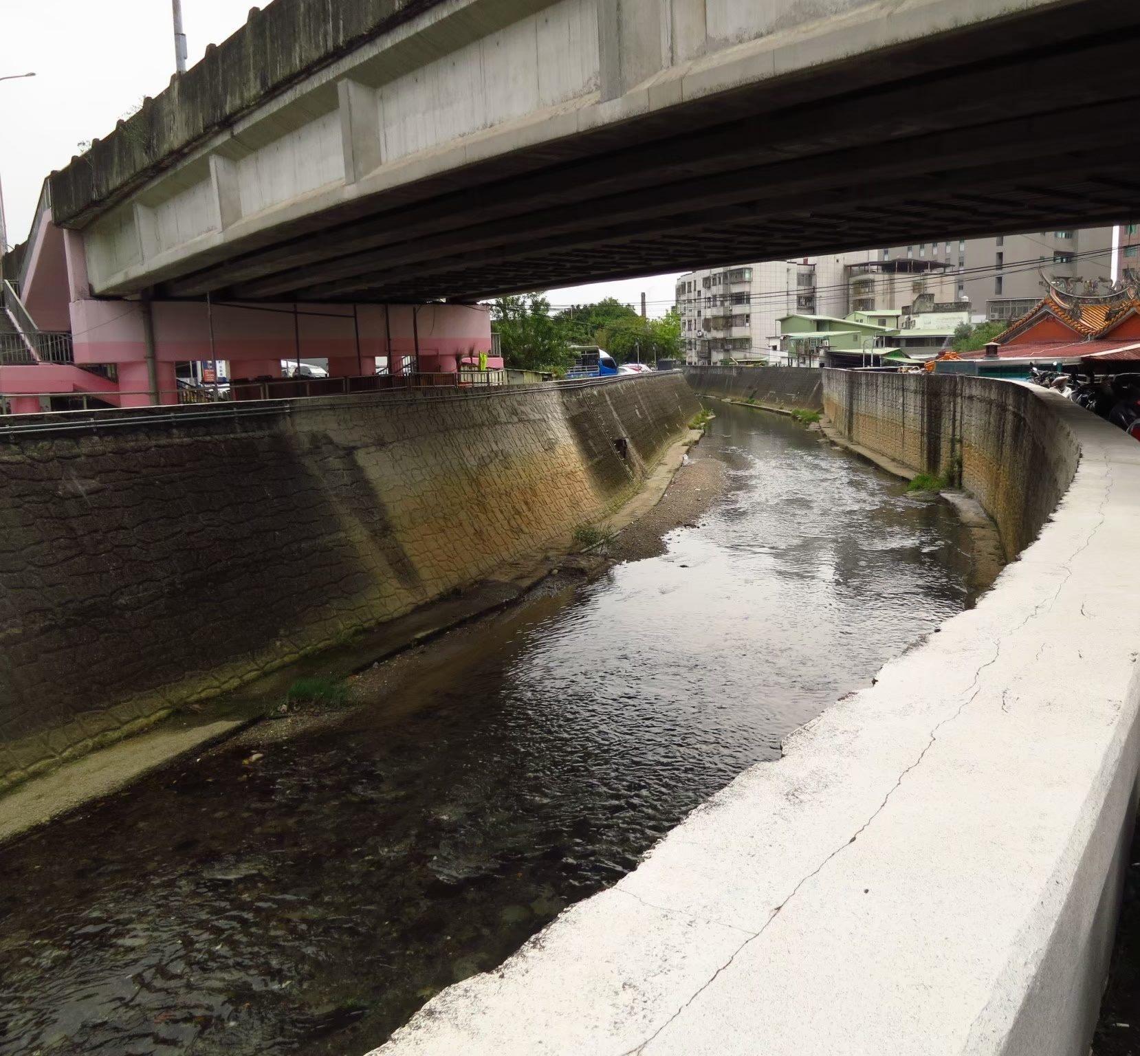 磺港溪下游現況照(西安橋下)