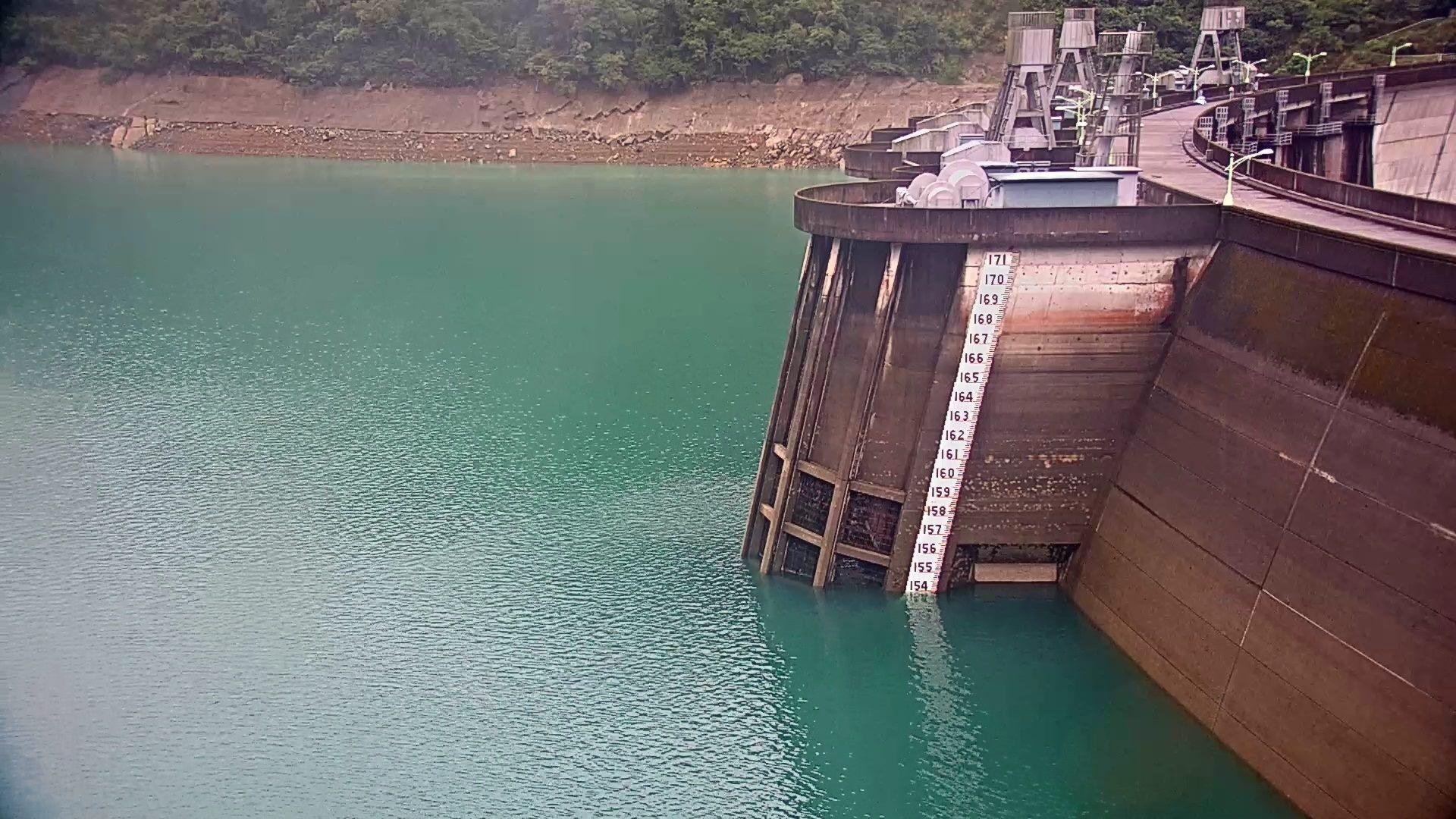 翡翠水庫110年5月24日水位現況照片