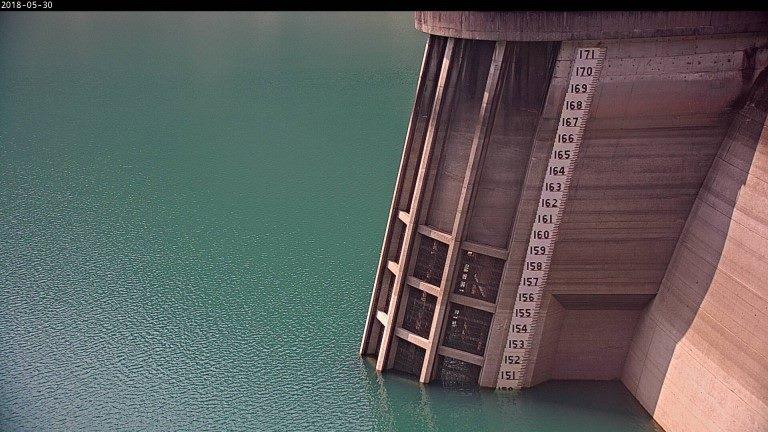 照片1 翡翠水庫5月30日水庫蓄水現況照片