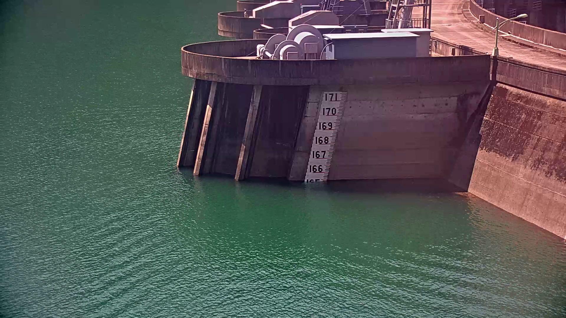 翡翠水庫水庫蓄水現況照片