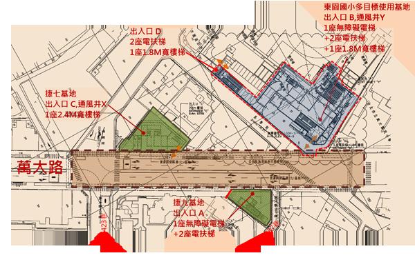 LG04站平面位置示意圖