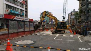 1080407_CQ850A_423巷北側擋土樁試挖