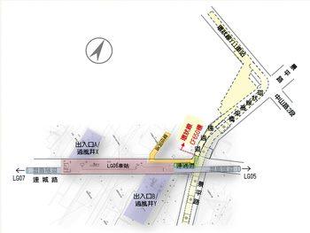 LG06車站位置示意圖