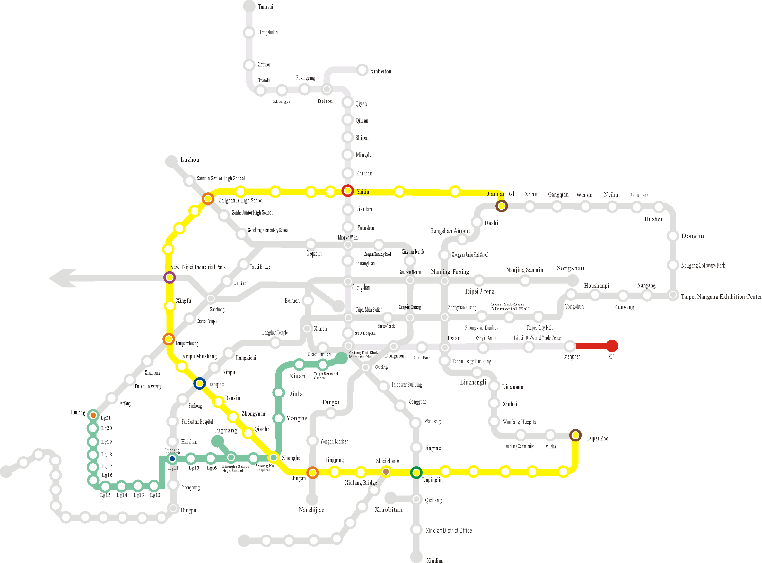 Approved MRT Routes, gif download, opened with new window.