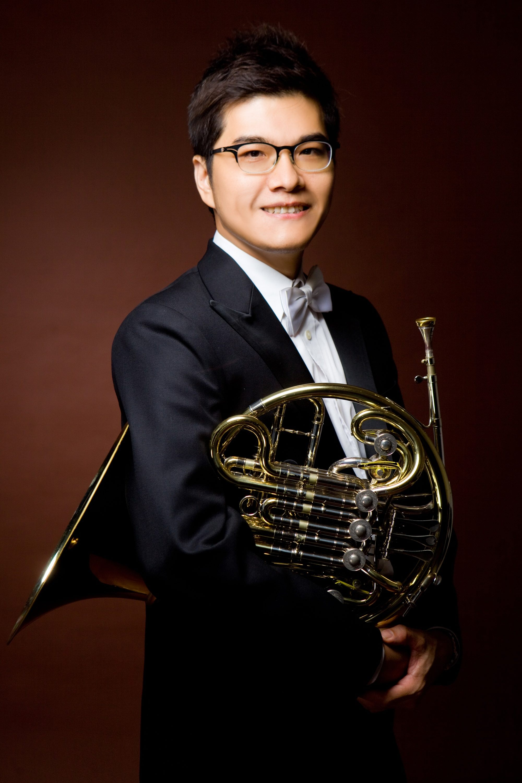 TSO管樂團指揮蕭崇傑照片