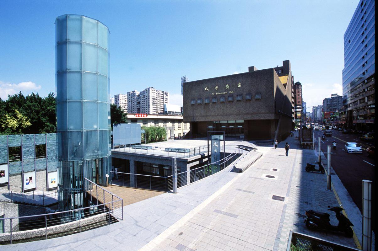 城市舞台外觀