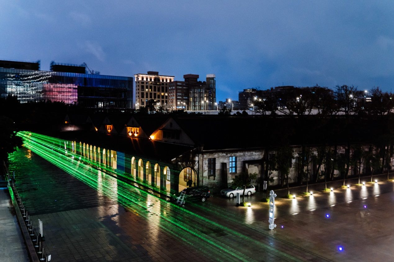 """Chuang Chih-wei's """"Low-light Project: Empty Corridor"""" – the only installation artwork for nights during Taipei Original Festival."""