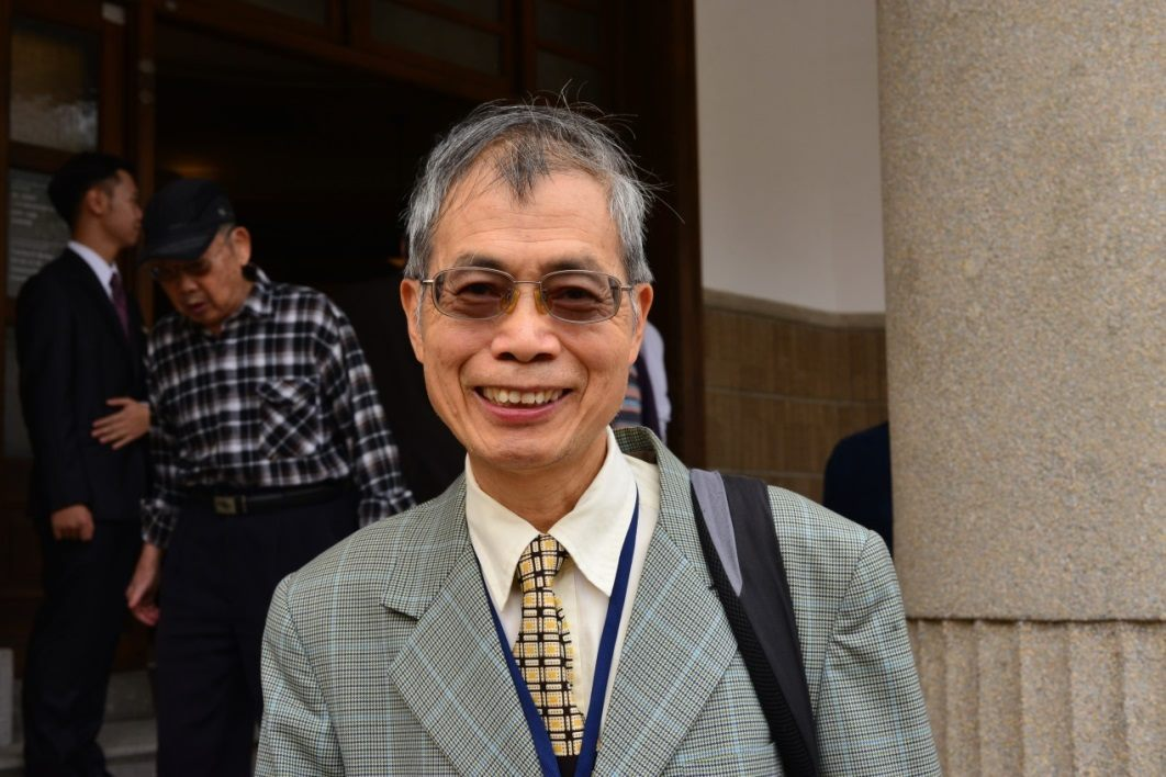 Chiang Chao-ken serves as Chiang Wei-shui Cultural Foundation executive director and is also Chiang Wei-shui's grandson