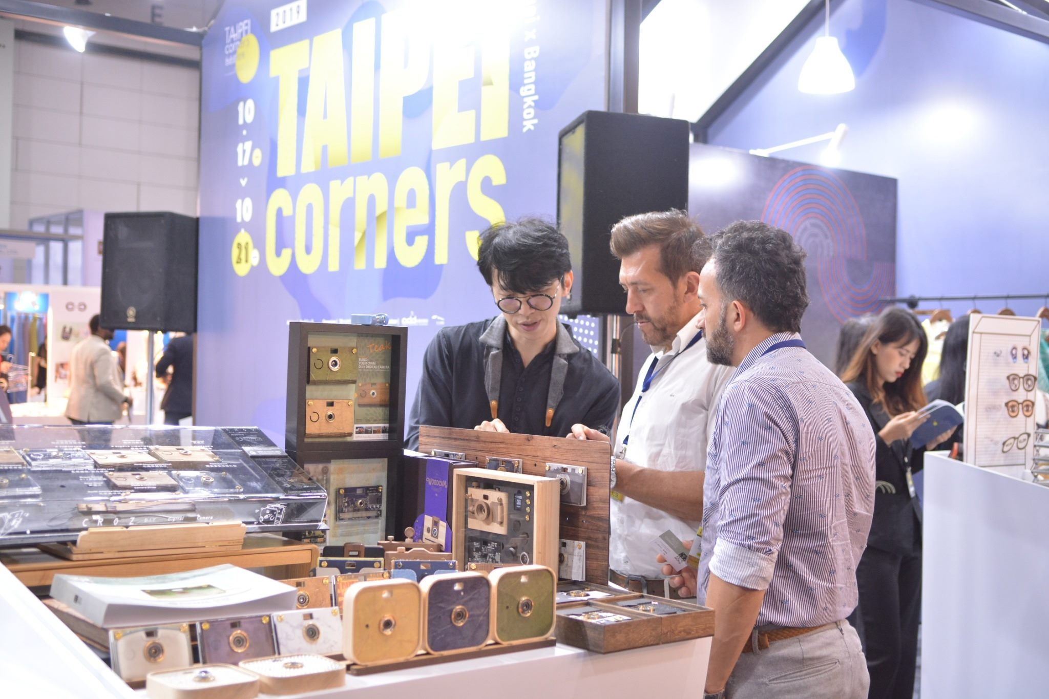 """Taipei corners"" at the festival attracts many foreign distributors to place orders."