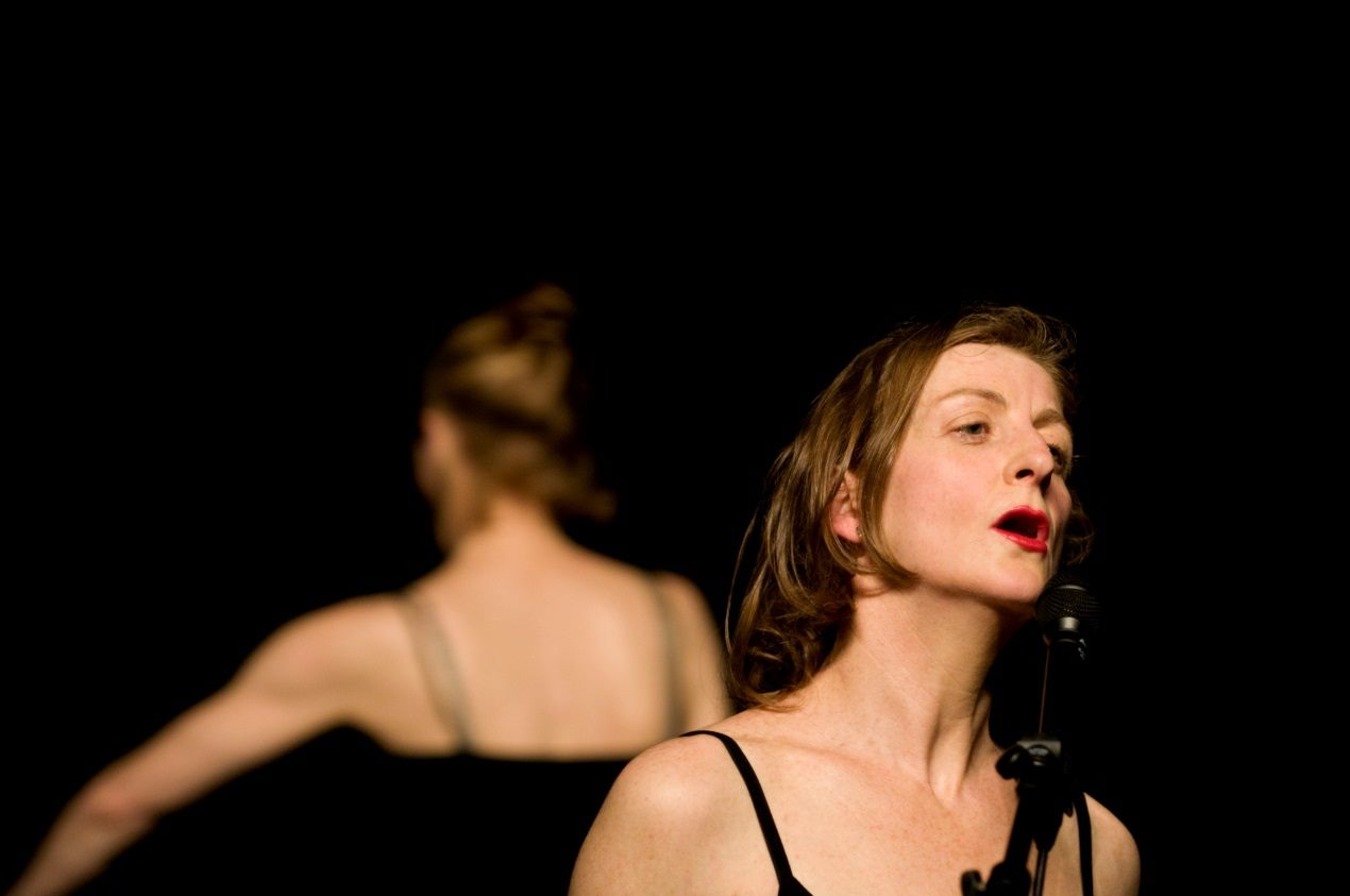 "French choreographer Mathilde Monnier and Spanish choreographer La Ribotin's creation ""Gustavia."""