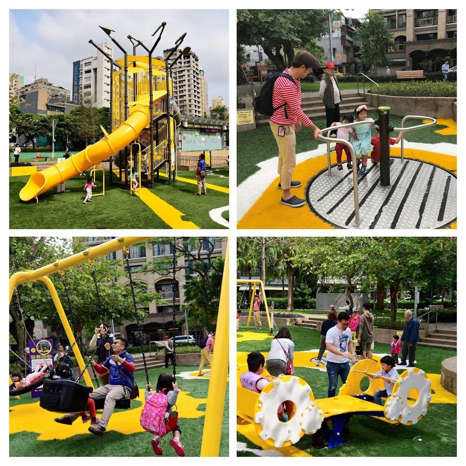 Inclusive play facilities in Jiancheng Park are accessible to individuals of all ages and abilities