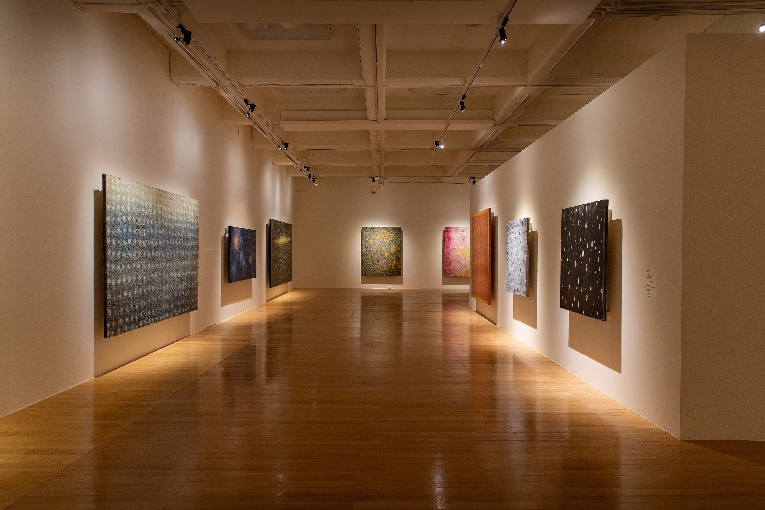 A corner of the gallery of Chiang's Retrospective.