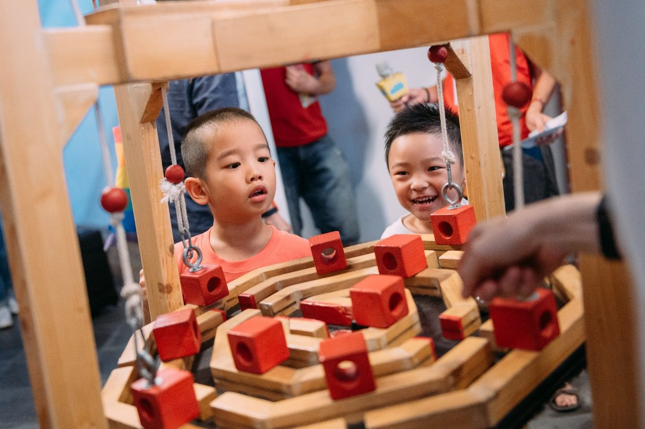 Xics del Xurrac is one of the interactive exhibits at the 2019 Taipei Children's Art Festival.