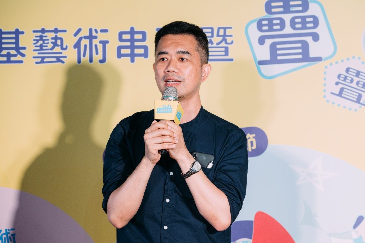 Cai Zongxiong (蔡宗雄) says that he hopes the Art Festival could be an occasion for the three cities to work together.