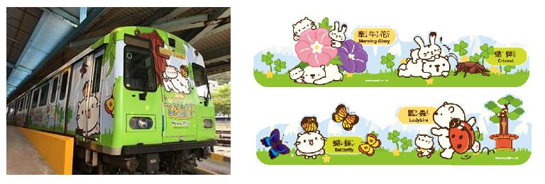 109年度 「探索森林」親子彩繪列車及貼圖(早晨)