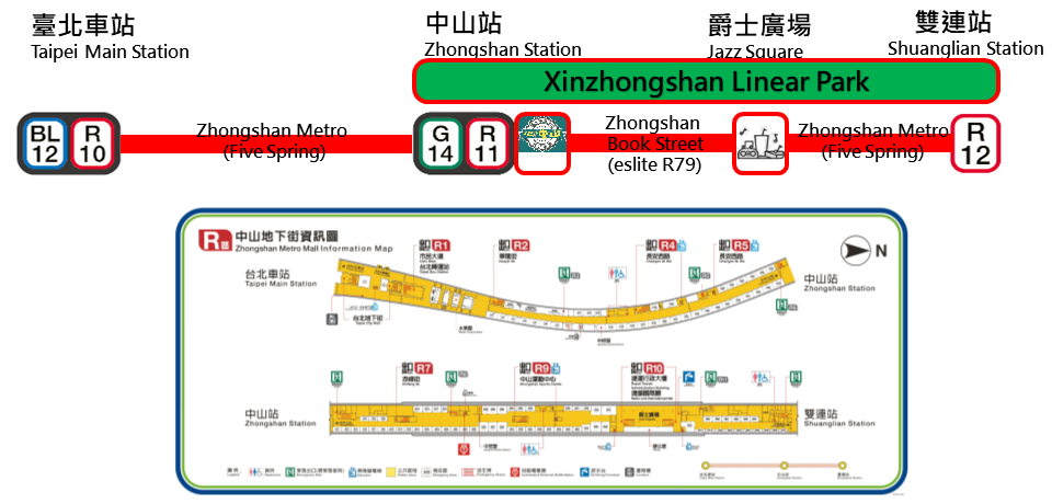 Zhongshan Metro Mall Location