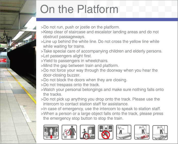 Safety Guide - On the Platform