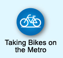 Taking Bikes on the Metro