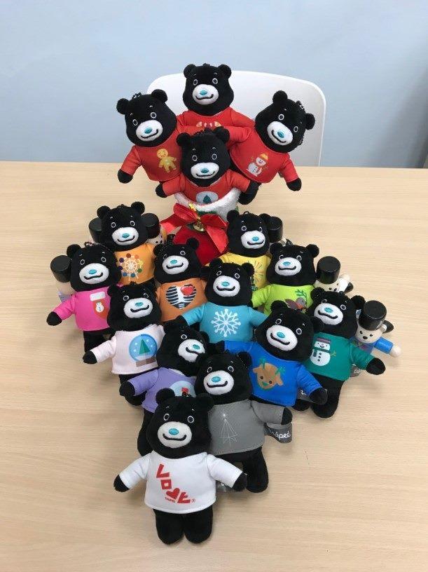 2018耶誕派對玩台北17款造型派對熊-2