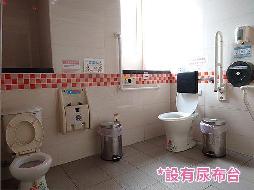 4樓無障礙及親子廁所