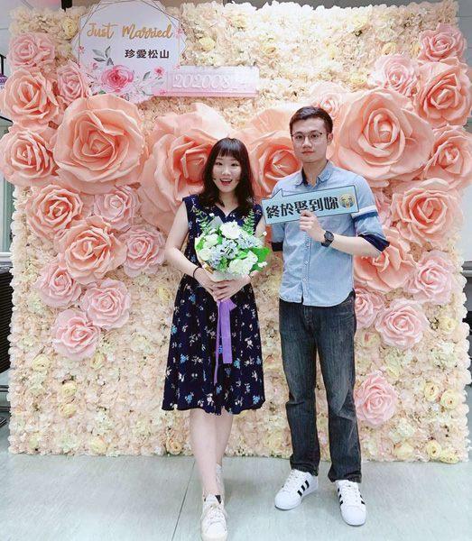 松山區戶政事務所結婚專區照片