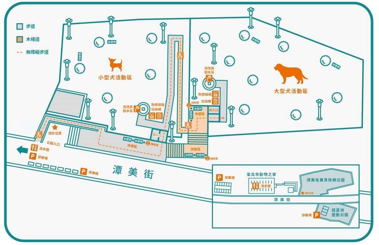 潭美毛寶貝快樂公園地圖