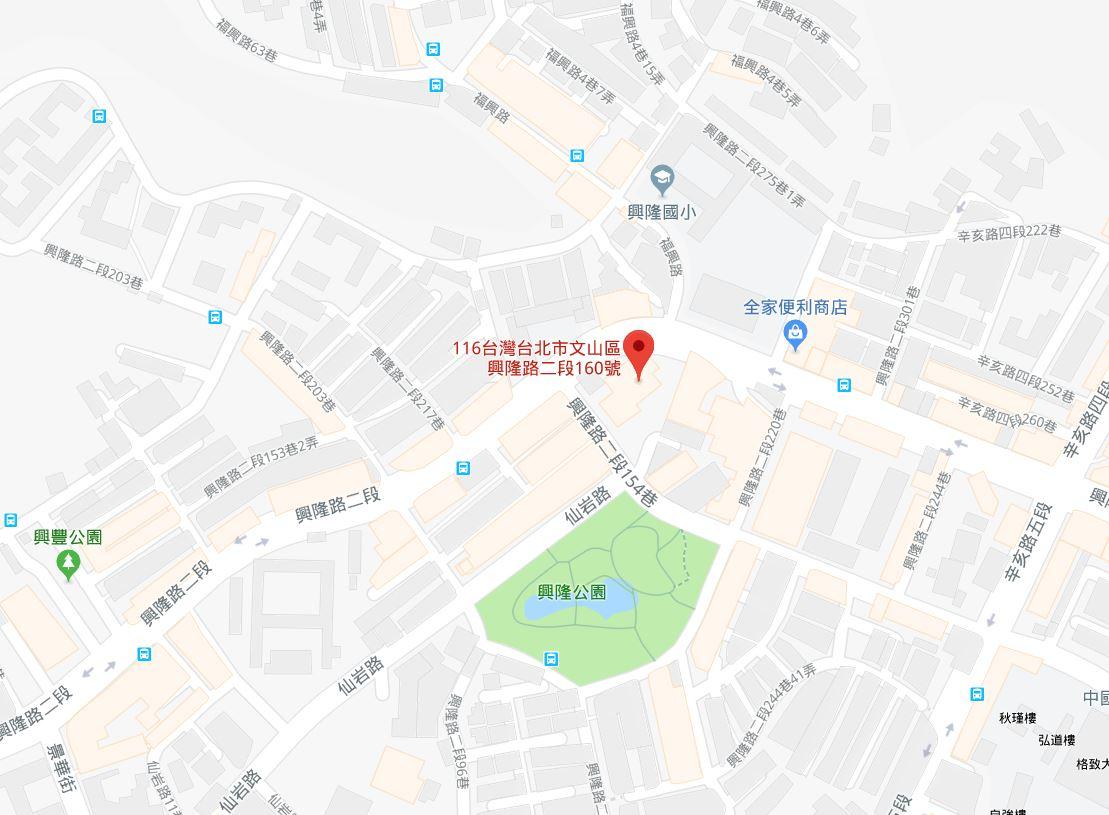 文山戶政(景美辦事處)交通圖