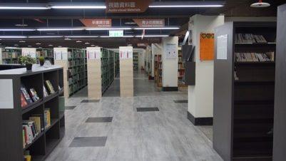 民生5樓一般書庫區照片