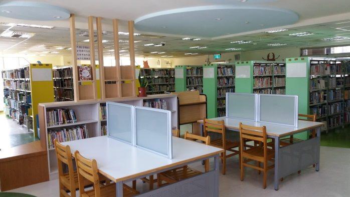 8F一般閱覽區