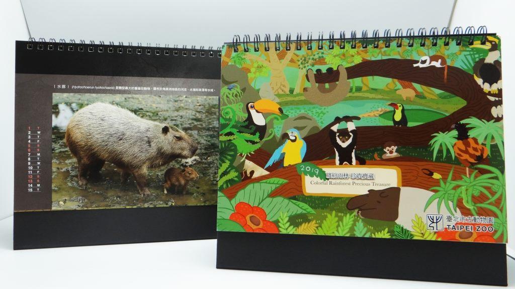 2019保育教育桌曆封面